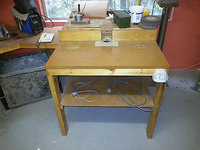 Router, Router Table and tools