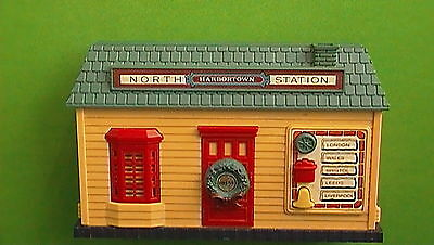 1989 New Bright - Harbortown North Station Musical Christmas Train Station