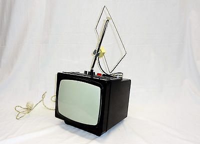 Vintage Russian Sovie Portable Television TV ELEKTRONIKA 404D/ЕЛЕКТРОНИКА 404 Д