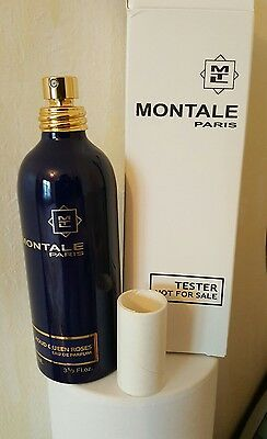 "Rare ! Parfum MONTALE Paris ""Aoud Queen Roses""... 100ml, Neuf ! (voir photo..)"