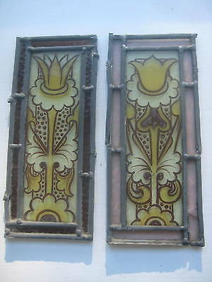 A120 Extra    stained glass    Ca 1890s Excellent