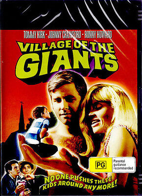 Village Of The Giants (2015, DVD NUOVO) (REGIONE 0)