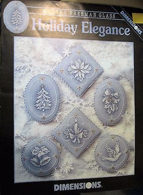 HOLIDAY ELEGANCE Christmas Cross Stitch Patterns  6 designs