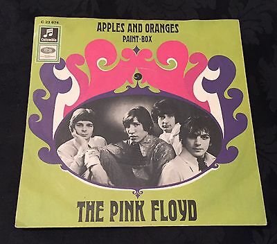 "THE PINK FLOYD 1967 7"" Apples And Oranges GERMAN Syd Barrett PSYCH 45 M-/MINT-"