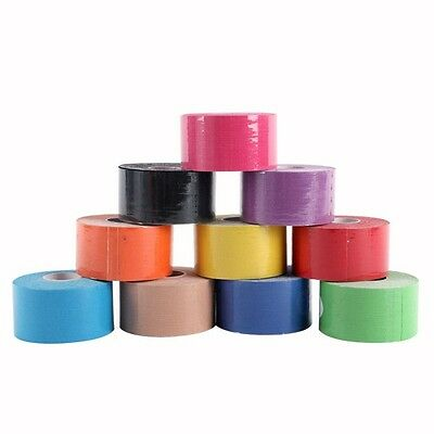 1Roll 5Meter Kinesiology Tape Sport Physio Muscle Strain Injury Support KT Ares