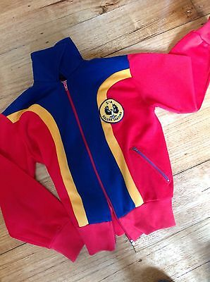 South Australian Roller Skating Team Tracksuit From 1982. Small Sz 8