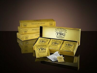 TWG Classic Teabag Selection - English Breakfast, French Earl Grey & Chamomile