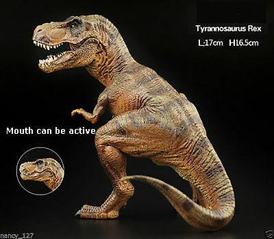 Squating Tyrannosaurus Indominus Rex Jurassic Dinosaur Animal Model Figurine Toy
