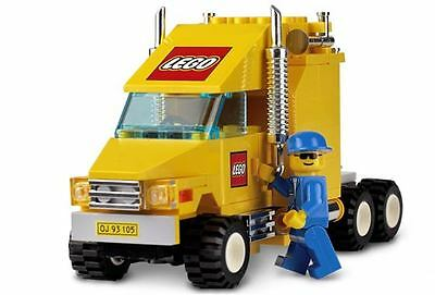 SUPER RARE LEGO Truck Prime Mover - AS NEW 10156 CITY Town Traffic -new stickers