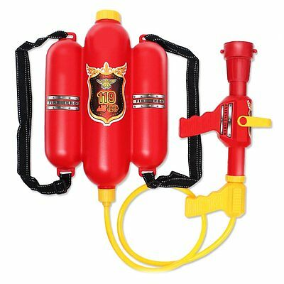 Backpack Water Gun Super Soaker Pistol Firefighter Beach Outdoor Garden Toys IB