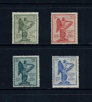 ITALY _ 1921 'VICTORY' SET of 4 _ mh ____(455)