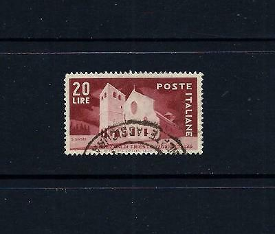 ITALY _ 1949 'CATHEDRAL' 20 lire _ used ____(455)