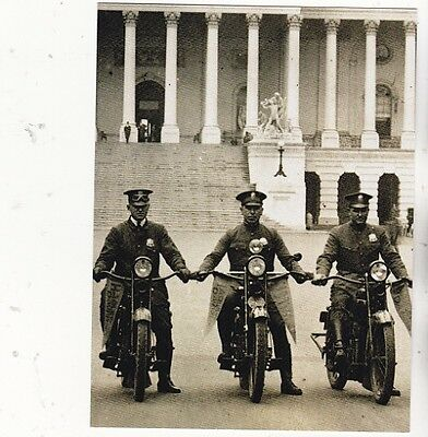 """*Postcard-""""3 Police Officers on Motorcycles""""   ...Classic-"""