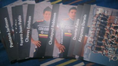 cyclisme cp team COLOMBIA 2012 complet
