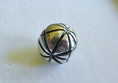 GENUINE TROLLBEADS  'RETIRED SILVER ' PENTAQUE  BEAD' lovely ever collectable