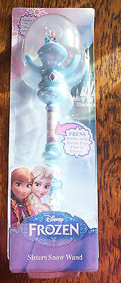 Disney - Frozen - Sisters Snow Wand - Childs Toy - Suitable Ages 3+