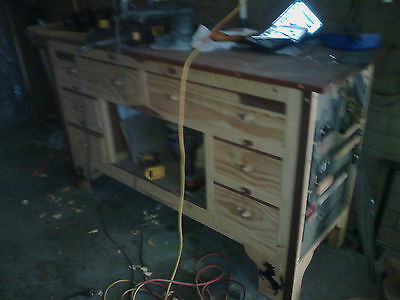 Woodworking Bench & Carter Vice