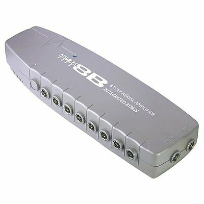 LL583 SLx 27824BMG 8 Output 4G Compatible Aerial Distribution Amplifier