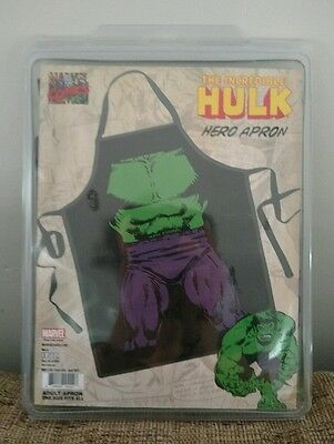 The Hulk Character Apron one size fits all new