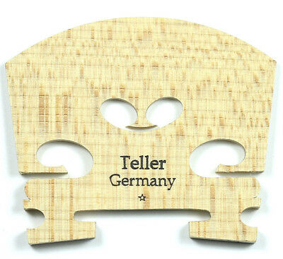 One Star (*) Teller Aged Maple Uncut Violin Bridge - 4/4 Size Made in Germany