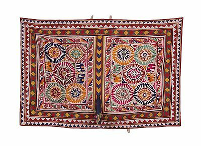 Applique Patch Superb Beautiful Traditonal Banjara Yoke Embroidery Sewing craft
