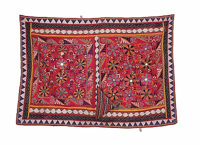 Traditional Sewing Indian Banjara Yoke Embroidery Applique Asian Art craft