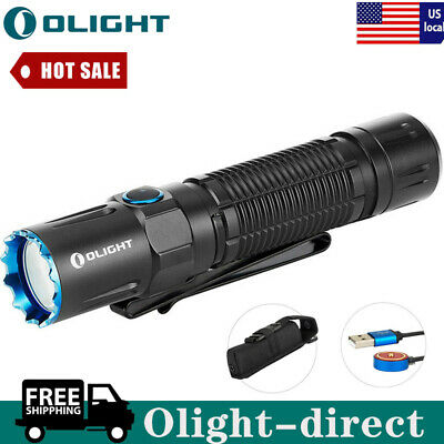 OLIGHT M2R Warrior 1500 Lumen LED Rechargeable Hunting Tactical Light Flashlight