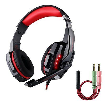 multifun G9000 Gaming Headset with Microphone for PS4 3.5mm Stereo Surround Gami