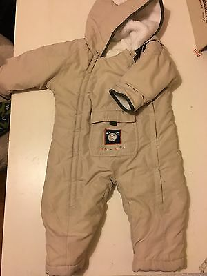 Snowsuit Boys Or Girls Cherokee 9-12 Month