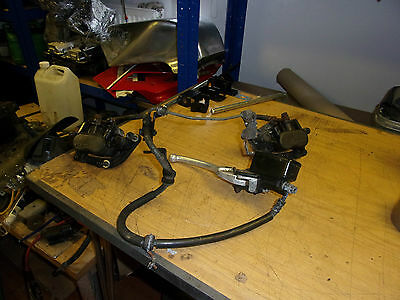 1996 honda cbr600 front calipers and master cylinder complete   (4)