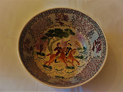 """19th Century Chinese Export Bowl 10"""""""
