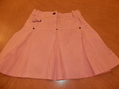 Girls Pink HOOCH skirt age 7-8 years worn once