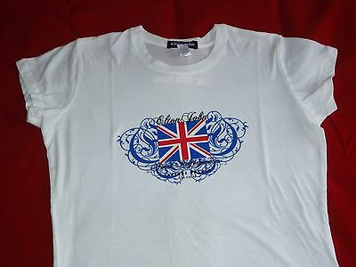 Elton John Red Piano Caesars Palace White Fitted Skinny T Shirt New