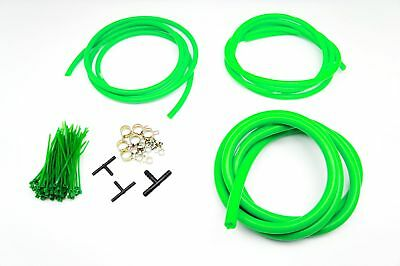 Autobahn88 Engine Bay Silicone Vacuum Hose Dress Up DIY Kit GREEN Fit SUBARU