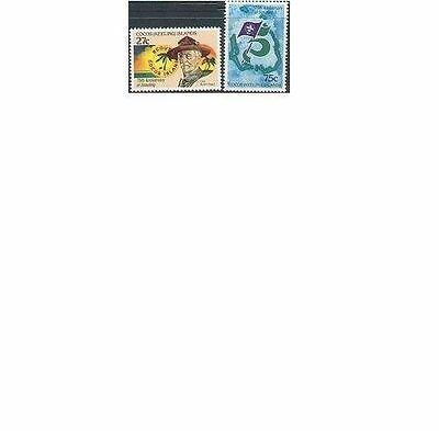 Cocos Islands 1982 SCOUTING (2) Unhinged Mint SG 82-3