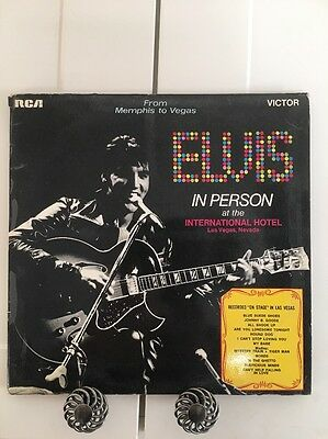 Elvis Presley - Vinyl Album - 2 Record - In Person At The International Hotel