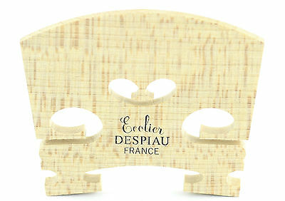 *NEW* Despiau Ecolier Aged Maple Uncut Violin Bridge - 1/4 Size Made in France