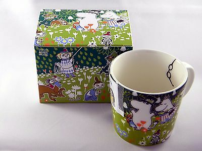Arabia Moomin rare glasses Mug Tove 100 Years Anniversary Celebration NEW