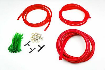 Autobahn88 Engine Bay Silicone Vacuum Hose Dress Up DIY Kit RED For TOYOTA