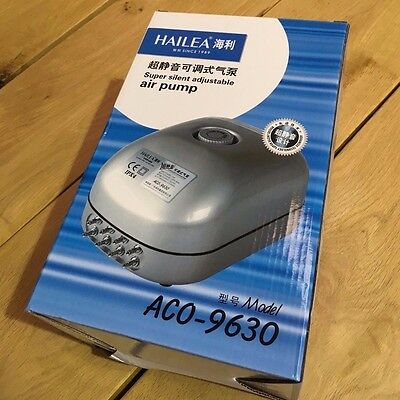 Hailea ACO9630 Eight Outlet Air Pump **Super Silent**