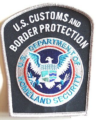 Us Customs And Border Protection Jacket Patch Badge Police Rare