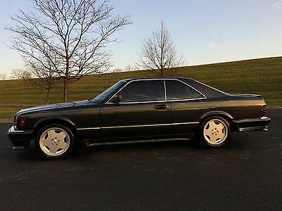 1989 Mercedes-Benz S-Class 560SEC*AMG TRIM PACKAGE*RARE CAR*A MUST SEE! 1989 560SEC*AMG TRIM PKG*AWESOME LOOK*RARE CAR*COLLECTIBLE*$19995/MAKE OFFER