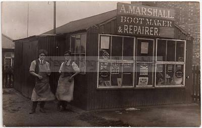 A Marshall SHOPFRONT - Bootmaker & Repairer/ Cobbler - Unlocated/Mystery/Unknown