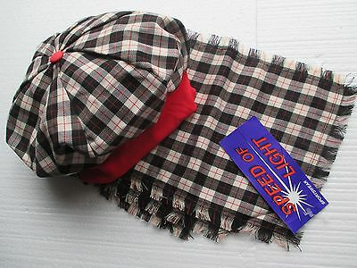 New (ex shop stock) childs hat and scarf set  designer Speed of Light