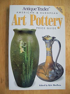 VINTAGE ART POTTERY PRICE GUIDE COLLECTORS BOOK 3,500 Listings