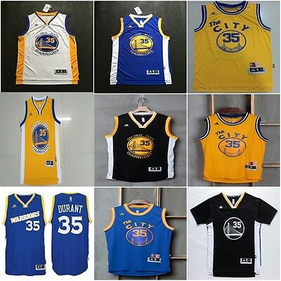 Camiseta baloncesto NBA Kevin Durant 35 Golden State Warriors basketball jersey