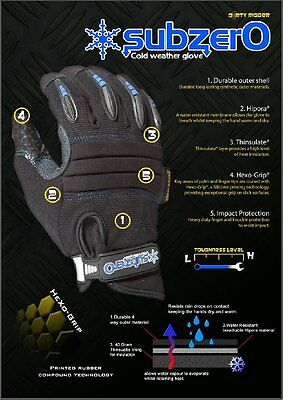 Dirty Rigger Subzer0 Cold Weather Glove