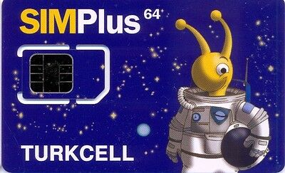 Turkey Turkcell Mint Gsm Sim Card Type 2
