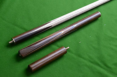 Brand New 3/4 Jointed Handmade Ash Snooker Cue / Pool Cue