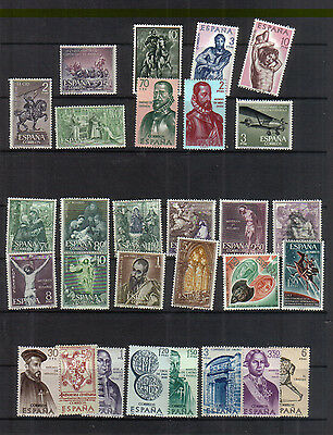Spain 1961-66 Mint Collection